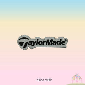 Taylor Made Logo Embroidered Iron On Patch Sew On Badge Applique