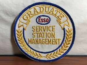 GAS STATION VINTAGE ESSO PATCH