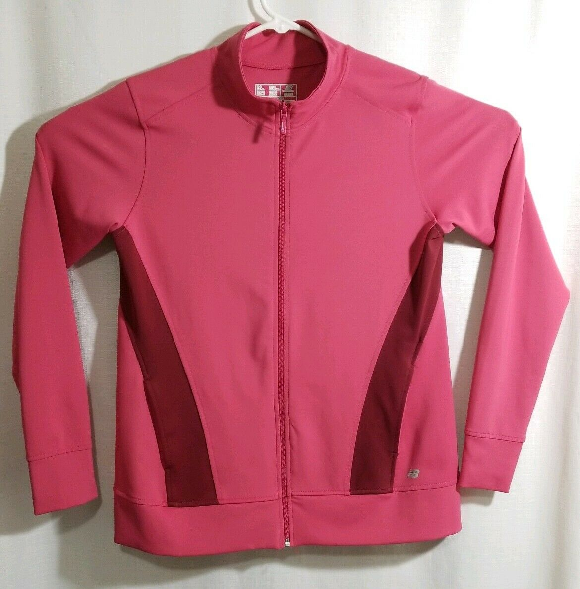 NEW BALANCE Womens Polyester Spandex Top Jacket, Coat, Size XL, Pink and Purple
