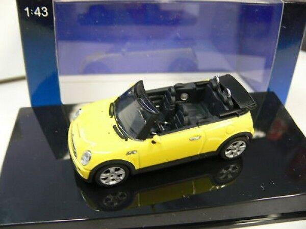 1 43 Autoart Mini Cooper S S S Cabriolet (yellow) 81390a