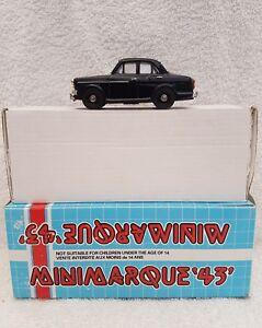 Minimarque 1/43 Uk24b - 1960 1965 Riley Mkii 1.5l Berline Noir