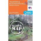 Taunton and Blackdown Hills by Ordnance Survey (Sheet map, folded, 2015)