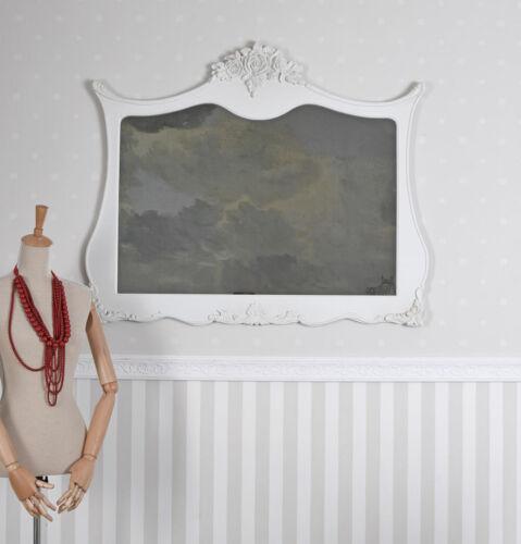 Wandspiegel Shabby Spiegel Antik Dekospiegel Weiss Konsolenspiegel Hängespiegel