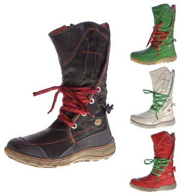 ladies leather winter boots tma 1384 shoes lined stitching winter boots ebay