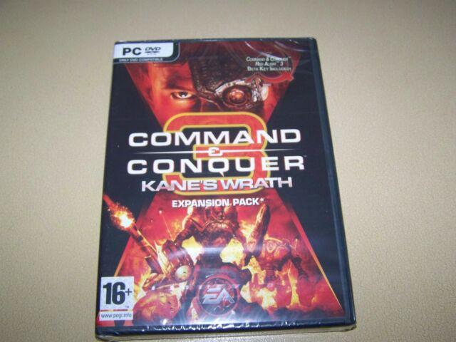 Command & Conquer 3: Kanes Wrath (PC: Windows, 2008) ** NEU und versiegelt **