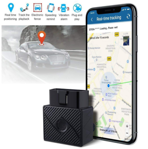 Tracking Device For Car >> Details About Obd Ii Gps Tracker Real Time Vehicle Tracking Device For Car Truck Locator