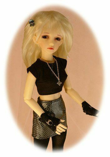 skirt BJD MSD pattern for Resin Goodreau /& similarly sized dolls; shirt jacket