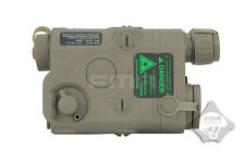 FMA TB494 DEVGRU Seal AN PEQ 15 Dummy Battery Case for AEG Airsoft - FG Green