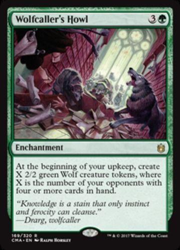 Wolfcaller/'s Howl NM Commander Anthology Green Rare MTG