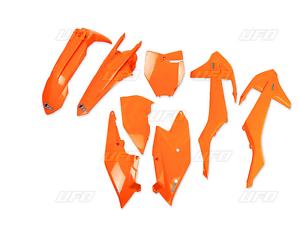 Conjunto de plástico plastikkit números incl pizarra naranja flúor KTM SX 125 150 250 2016
