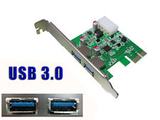 PCI EXPRESS PCIE USB 3.0  USB3 SUPERSPEED - 2 PORTS / CHIPSET NEC D720200/202