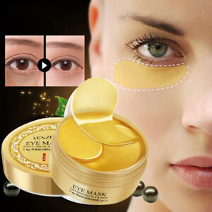 60-Pcs-24k-Gold-Moisturizing-Under-Eye-Gel-Pad-Face-Mask-Anti-Aging-Wrinkle