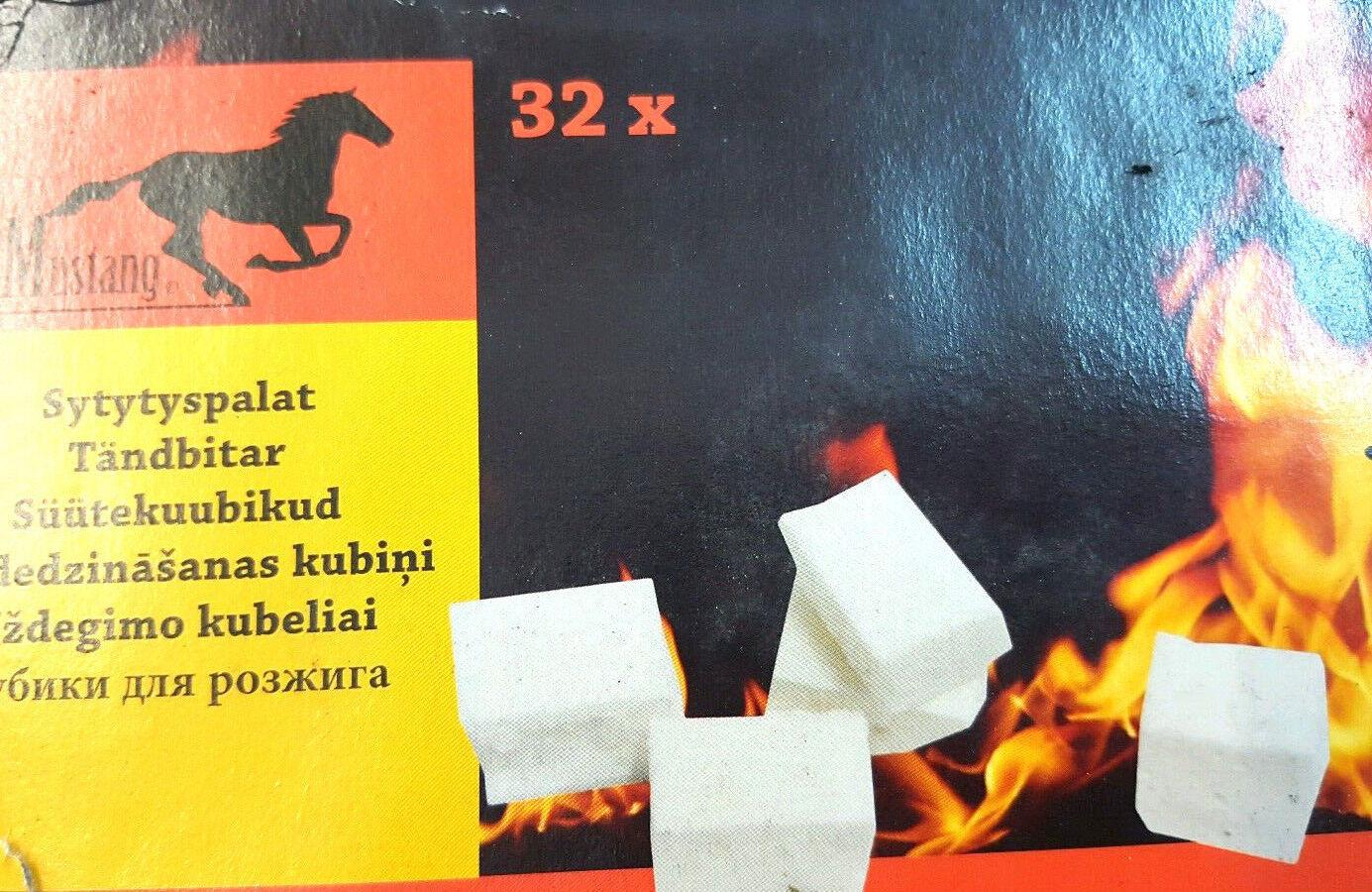 32xquickfire Fuego Encendedores barbacoa log Quemadores Estufa rápida fórmula hotspots Hot Spot