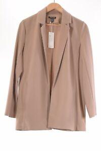 Eileen Fisher NWT Drapey Notch Collar Blazer Size Small in Bramble/Tan $298