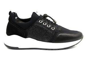 Nero-Giardini-A909031D-Nero-Sneakers-Scarpe-Donna-Calzature-Comode