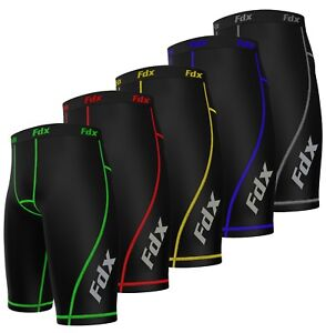 FDX-Mens-Compression-Shorts-Sports-Briefs-skin-tight-fit-gym-Running-Base-layer
