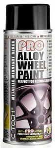 E-Tech-PRO-Metallic-Midnight-Black-Alloy-Wheel-Paint-400ML-Aerosol-Spray-Paint