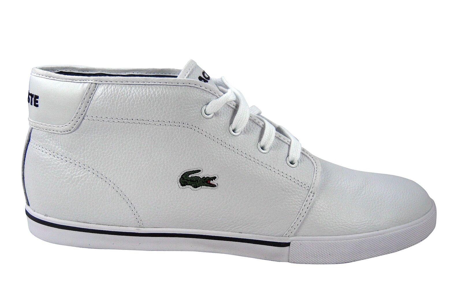 Lacoste ampthill tl SPM zapatos/zapatilla cuero White talla 39.5