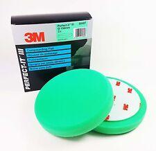 2er Sparset 3M Polierschwamm grün Polierpad Polieren Schleifpolitur 50487