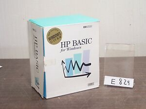 HP-E2060B-HP-BASIC-FOR-WINDOWS-3-1-3-11-95-NT-MANUAL-DOCUMENTATION-st-E829