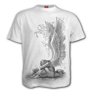 Spiral-Direct-Enslaved-Angel-White-Mens-T-Shirt-Heavy-Metal-Gothic-Tattoo-Biker