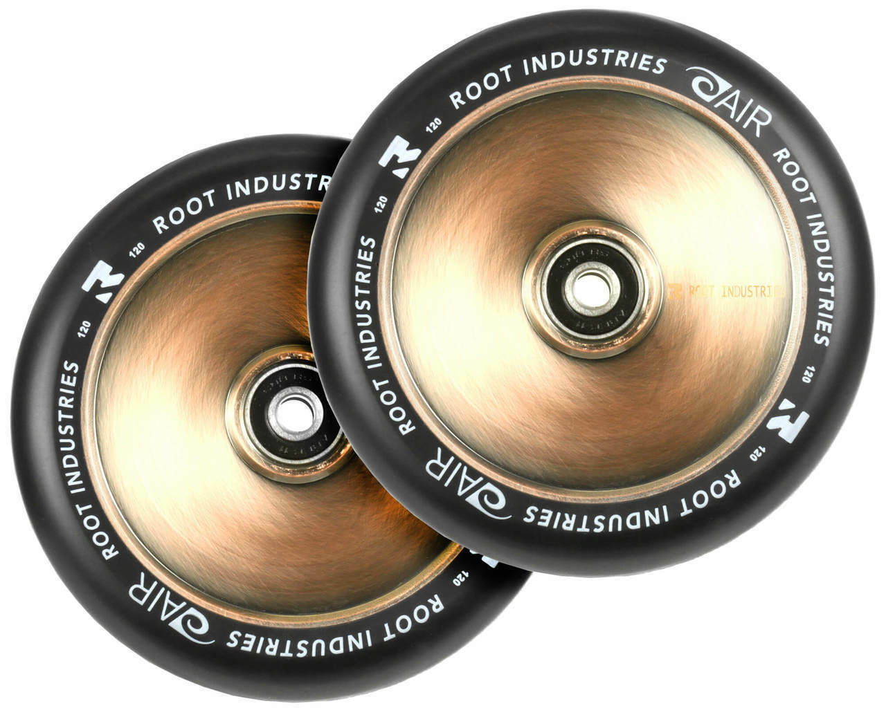 Root Industries Air 110mm Stunt Scooter Wheels - Pair - Coppertone 2018