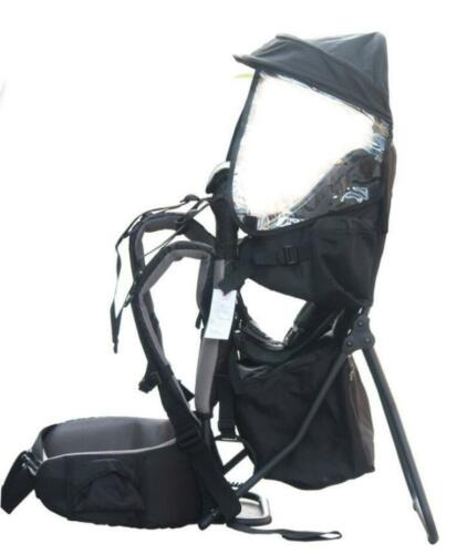 Baby Backpack Camping Hiking Child Kid Toddler Carrier Shade Visor US A+++