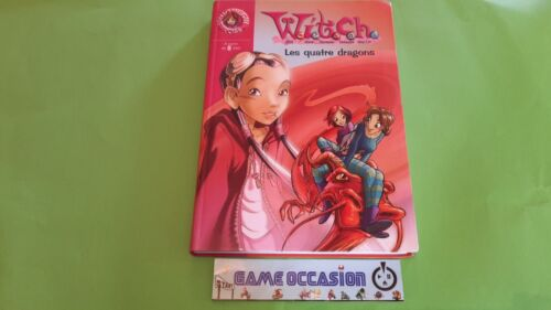 WITCH THE FOUR DRAGONS LIBRARY ROSE NO. 1479 BOOK HACHETTE