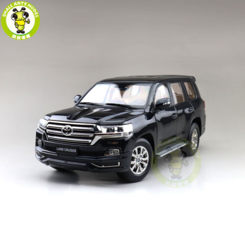 1/18 KengFai Toyota Land Cruiser LC200 LHD Diecast Model Car Toys Gifts Black