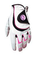 Ladies Pink All Weather Golf Glove + Sherpashaw Ballmarker - Right Handed Golfer