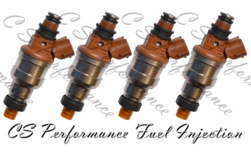 4 OEM Nikki Fuel Injectors Set INP-482 Rebuilt by Master ASE Mechanic USA
