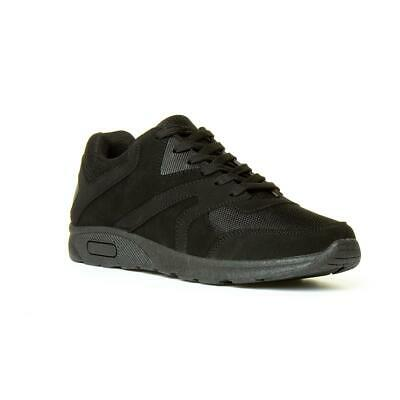 Mesh Trainer in Black by Podium Size UK
