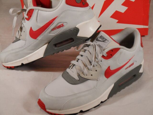 3bb8b8fe Nike Air Max 90 Ultra Moire Triple White Mens Running Shoes SNEAKERS 819477- 111 UK 13 for sale | eBay