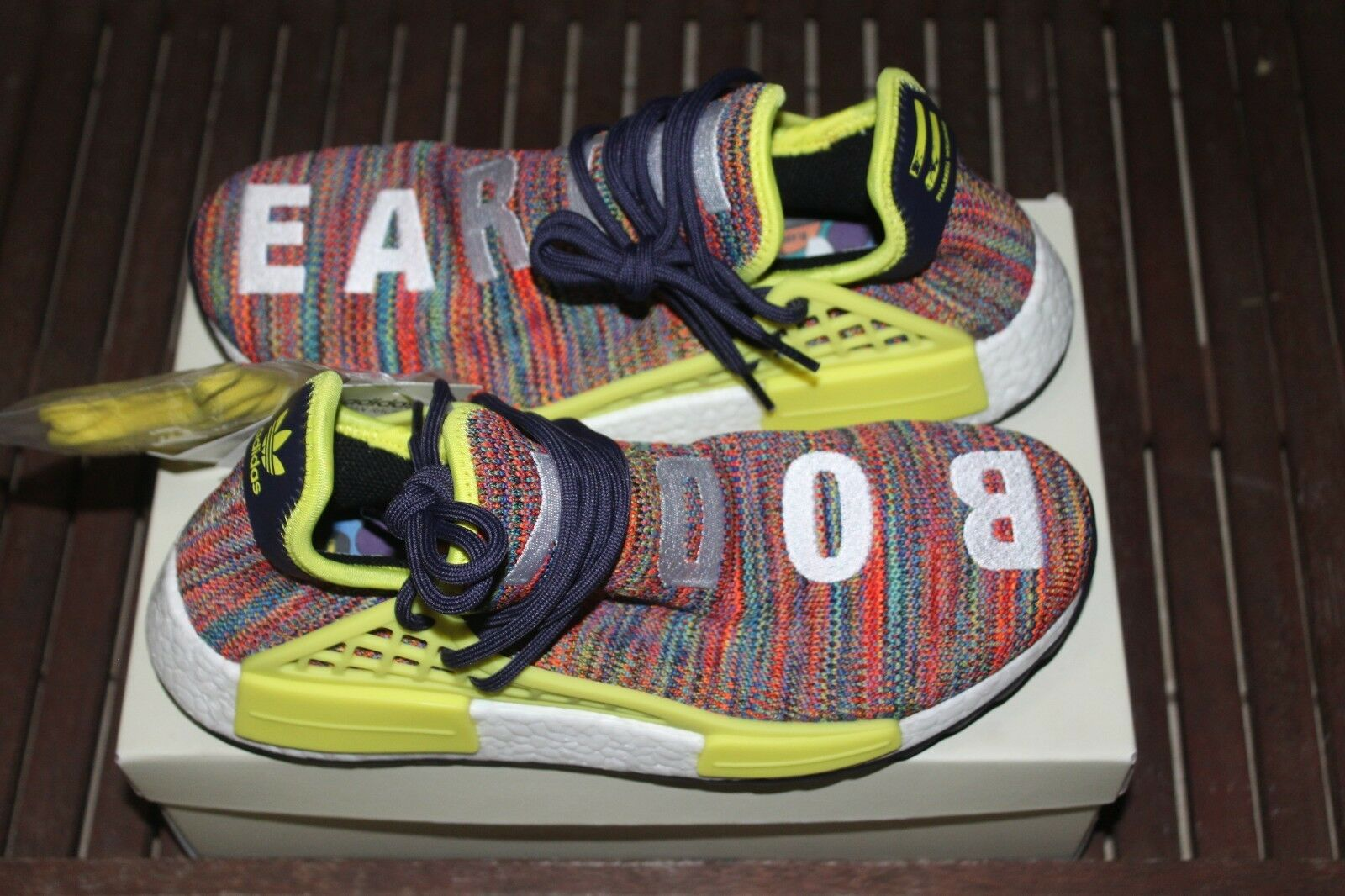 Brand New Adidas NMD TR PW Human Race     Pharell  AC7360 US Mens Size 8 multi d9738e