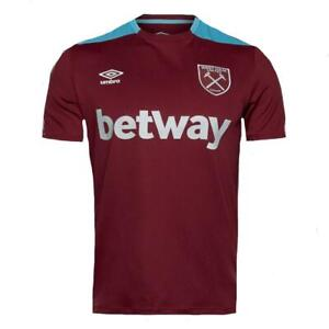 West-Ham-United-Shirt-Umbro-Mens-Football-Training-Team-Jersey-2016-17-75653U