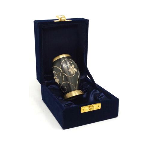Flat Top Floral souvenir Urne for Human Memorial cendres pour UK