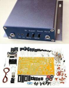 Diy Kits 51 Super Rm Rock Mite Qrp Cw Transceiver Ham Radio Hf Shortwave Case Ebay