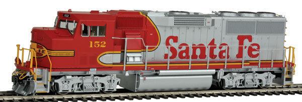 Escala Ho gp60m Locomotora wdcc Y Sonido-Santa Fe  152-Fvm  20184-s