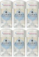 6 Pack Almay Anti-perspirant - Deodorant Fragrance Free Clear Gel 2.25 Oz on Sale