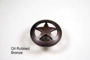 STAR FOOT PULL MB WESTERN CABINET HARDWARE DRAWER PULLS TEXAS STAR KNOBS