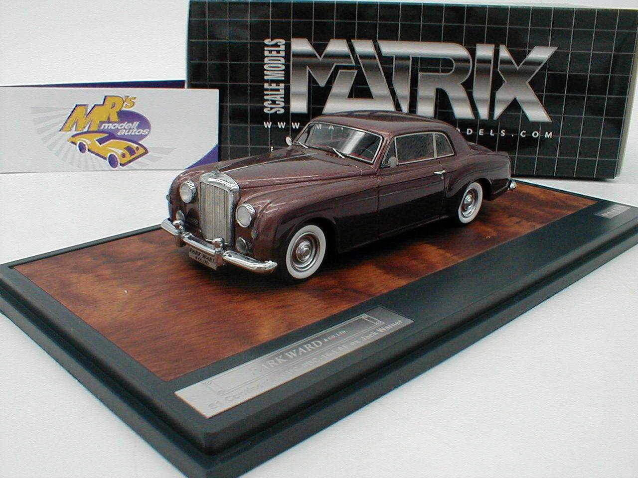 Matrice 10201-033 # BENTLEY s1 Coupe Continental Continental Continental FHC année 1956