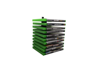 Floating-Xbox-One-Game-Wall-Mount-Holder-Rack