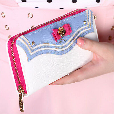 Samantha Vega Sailor Moon Bag Leather kawaii Wallet Purse portefeuille femme HQ