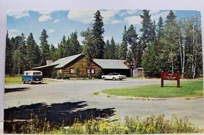 Wyoming Wy Grand Teton National Park Jenny Lake Lodge Postcard Old Vintage Card Ebay