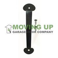 Garage Door Decorative Colonial Pull Handle 9 Black + Hardware