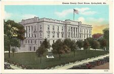 Greene County Court House in Springfield MO Postcard