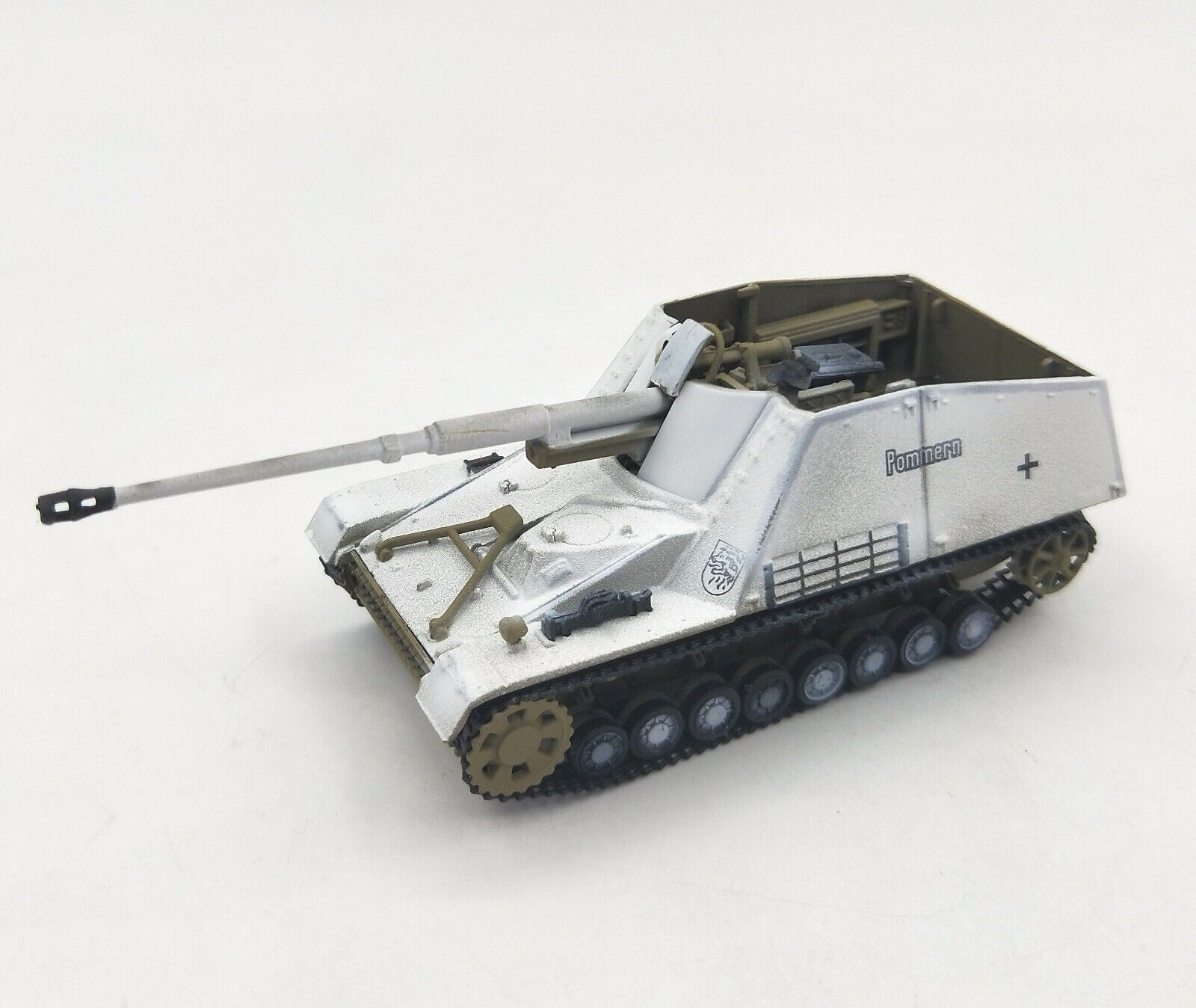 1 72 GERMAN Pommern Nashorn WWII Tank Diecast Military Armor Model Collection