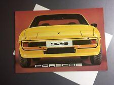1977 Porsche 924 DELUXE Showroom Sales Brochure RARE Awesome L@@K