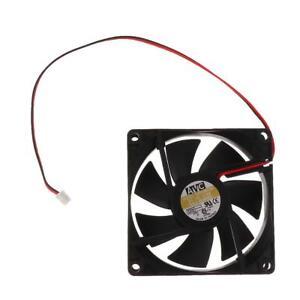 4Pcs Cooler PC Case Fan 8cm 2Pin Cooling Cooler Quiet Bearing High Speed