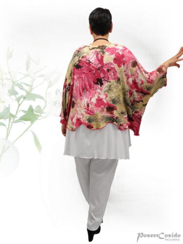 Poco design Lagenlook sottile palloncino pantaloni 44 46 48 50 52 54 56 58 L-XL-XXL-XXXL